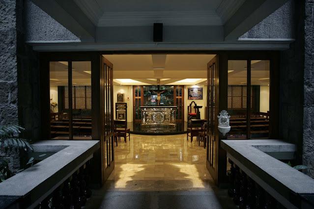 Archbishop's Chapel, Arzobispado, Intramuros, Manila