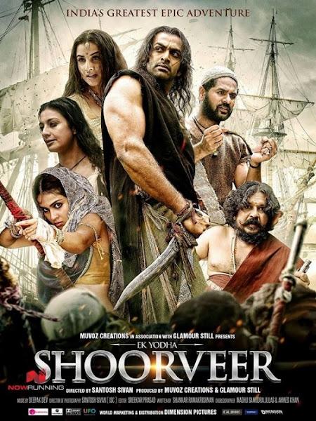 Poster Of Ek Yodha Shoorveer 2016 Hindi DVDScr Full Movie Download