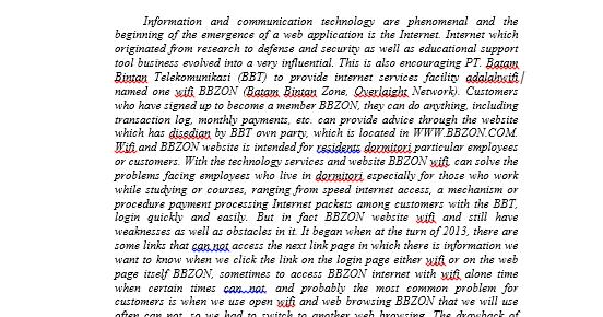 Contoh Abstrak Bahasa Inggris Teknik Informatika Mas Abas