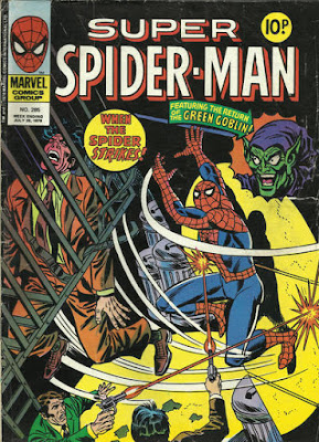 Super Spider-Man #285, the Green Goblin