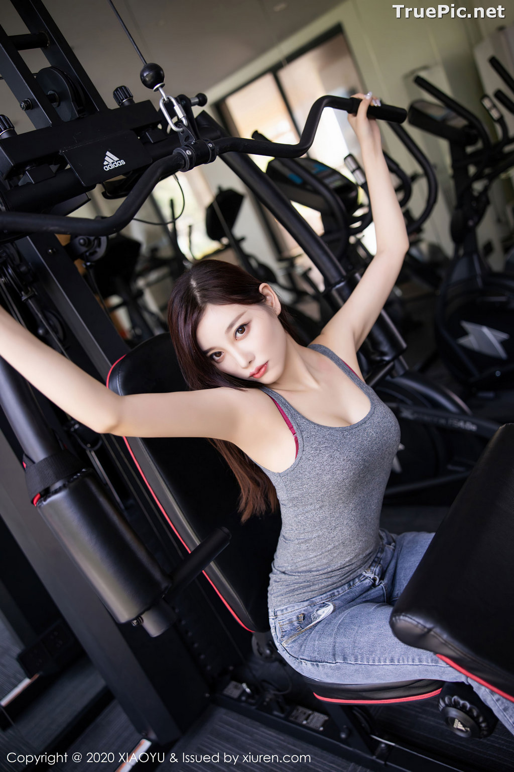 Image XiaoYu Vol.414 - Chinese Model - Yang Chen Chen (杨晨晨sugar) - Sexy Fitness Girl - TruePic.net - Picture-7