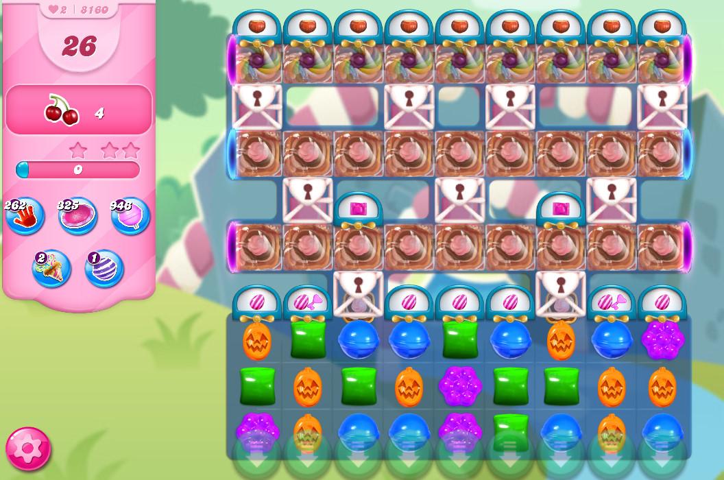 Candy Crush Saga level 8160
