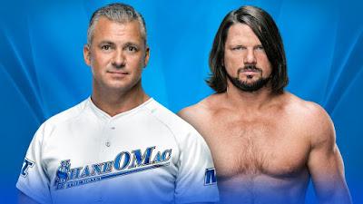 Shane McMahon vs AJ Style