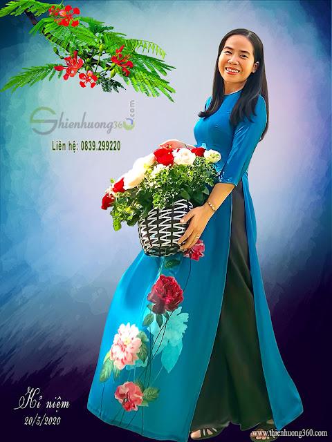 Vẽ Chân Dung Sơn Dầu