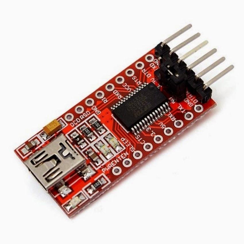 Conversor USB-TTL serial FTDI232