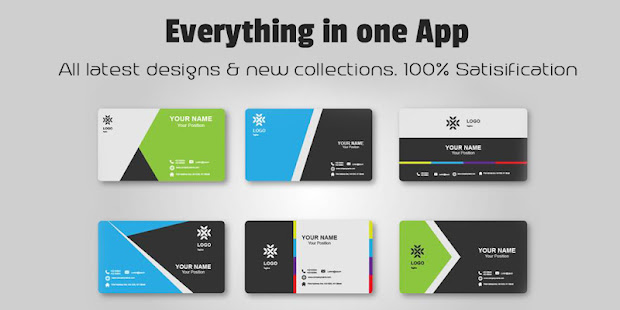 Business Card Maker App Download Android 2019