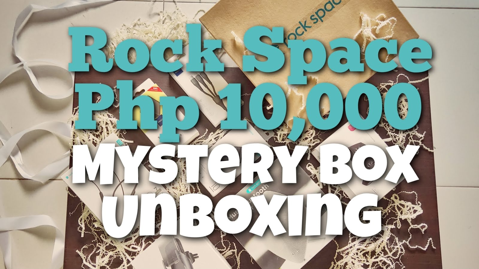 Rock Space Php 10,000 Mystery Box Unboxing