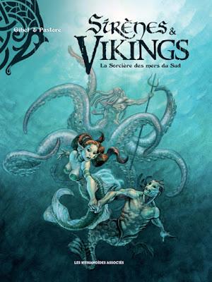 Sirènes & Vikings tome 3 La sorcière des mers du sud
