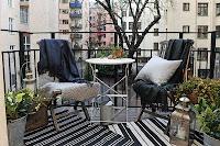 Balconul apartamentului