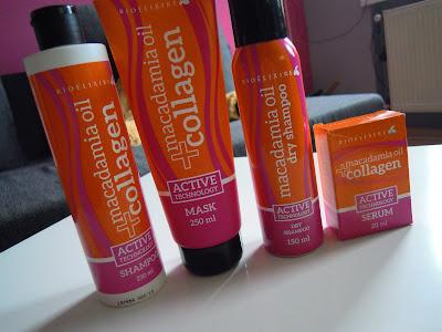 Recenzja serii Macadamia Oil + collagen od Bioelixire