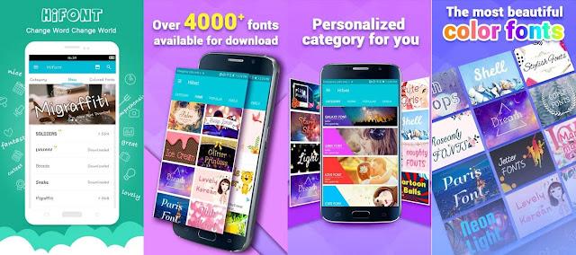 HiFont Aplikasi Font Android Terbaik dan Gratis Tanpa Perlu Root