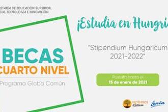 Becas Stipendium Hungaricum 2021-2022