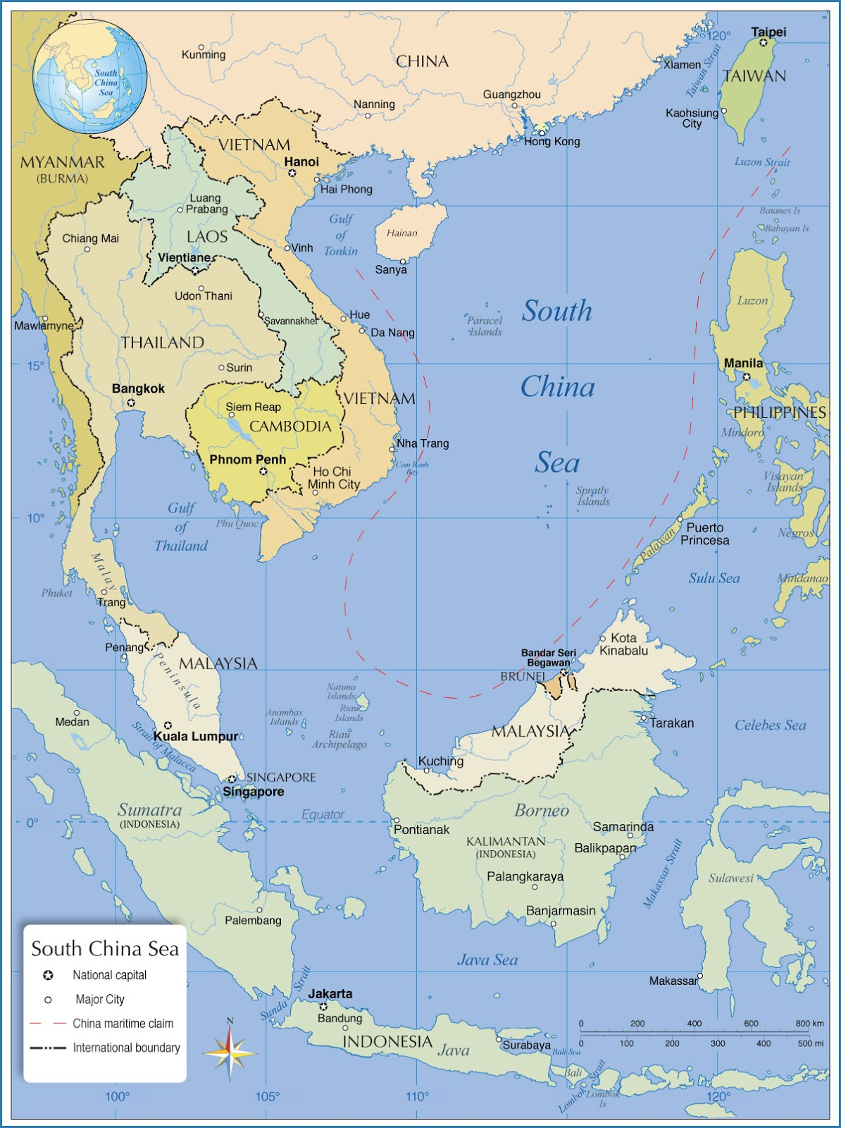 basing opportunities around the south china sea