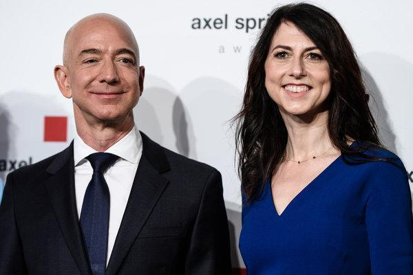 Jeff Bezos still living with ex-wife as her settlement increases by $1bn