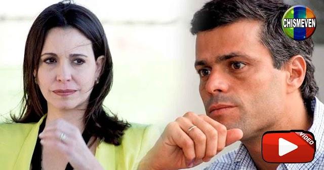 Leopoldo dice que no aplicarán el R2P en Venezuela y María Corina estalla