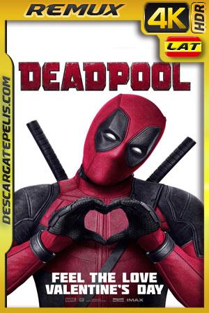 Deadpool (2016) 4k BDRemux HDR Latino – Ingles