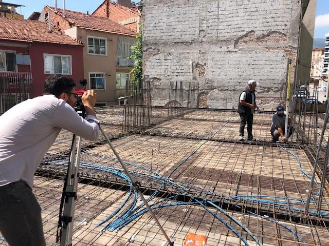 Örnek Şantiye Stajı Defteri Fotoğraflı Beton + Metraj