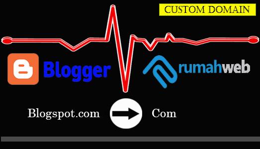 7 Tahapan Mudah Custom Domain Blogger Melalui Rumahweb