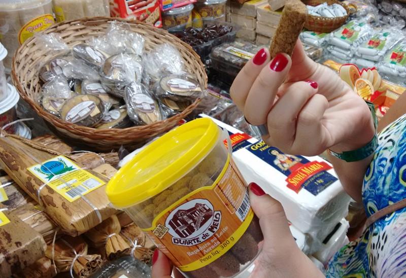 Produtos típicos e artesanatos em Tambaú, João Pessoa