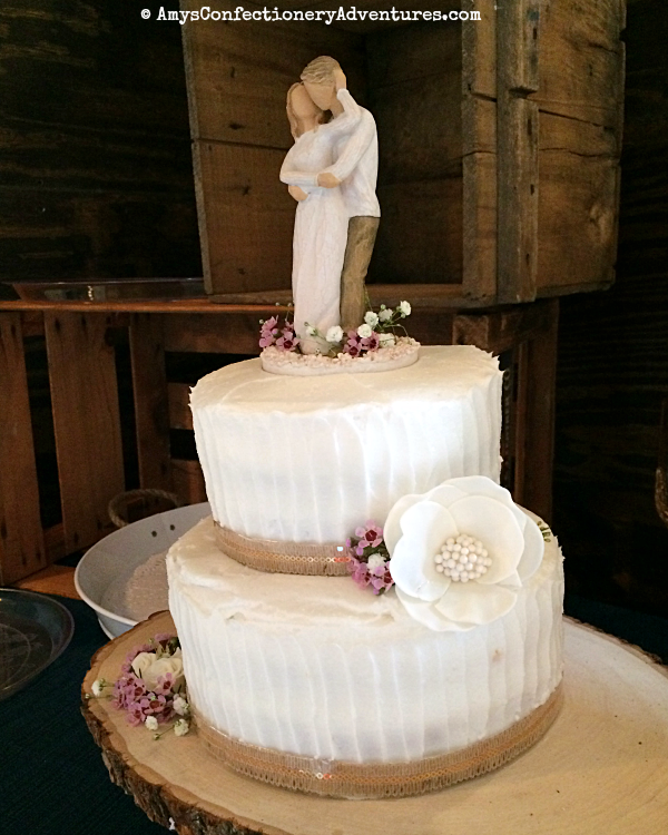 Amy\'s Confectionery Adventures: Rustic Wedding Cake