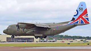 C-30J Super Hercules AU Inggris (RAF)