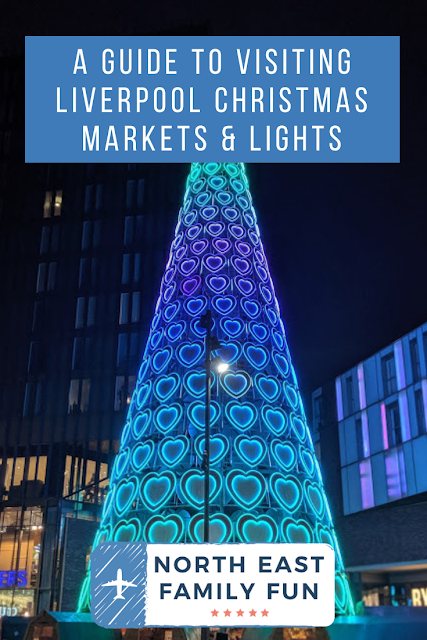 A Guide to Visiting Liverpool Christmas Markets & Lights  - Liverpool One Bar Hutte Christmas Tree Bar