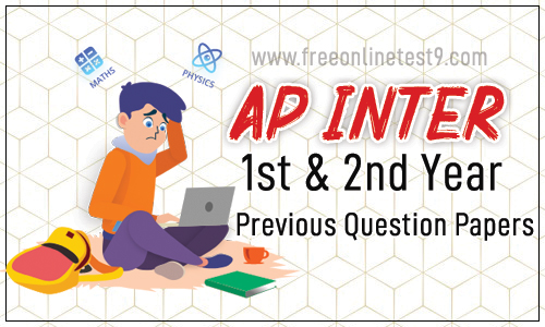 AP Inter 1st & 2nd Year Previous Question Papers