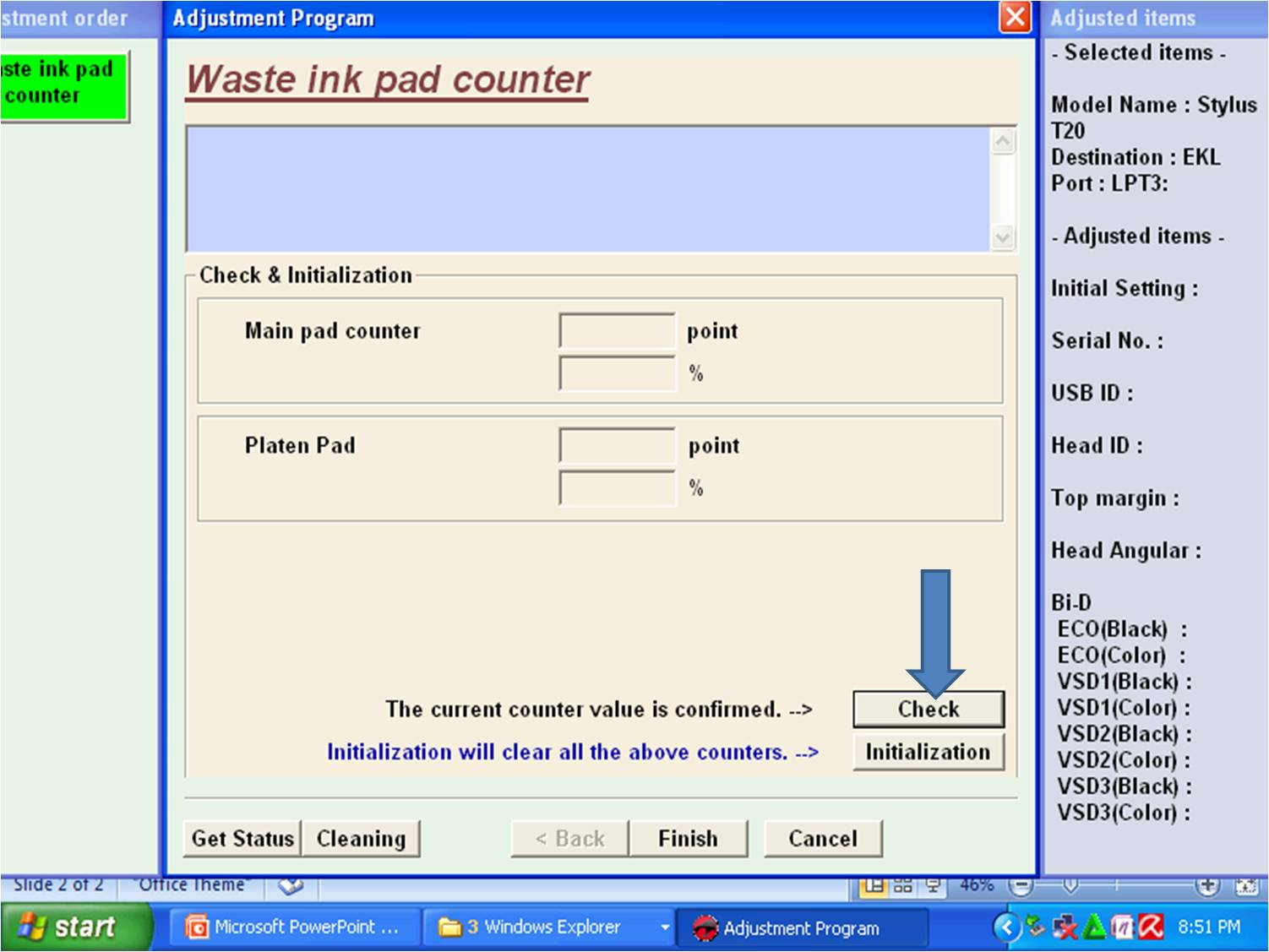 Epson l310 resetter free download rar