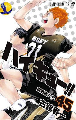 ハイキュー!! コミックス 最終45巻 最新刊 | Haikyuu!! Manga vol.45 | Hello Anime !