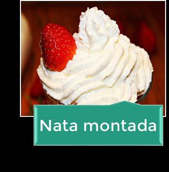NATA MONTADA (crema de leche)