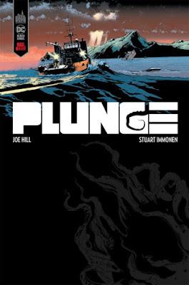 Couverture de Plunge de Joe Hill et Stuart Immonem, Urban Comics
