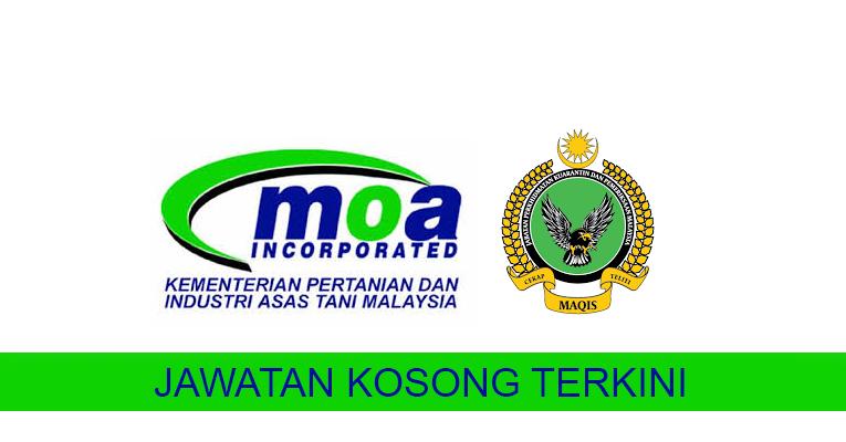 Kekosongan Terkini di Kementerian Pertanian Dan Industri Asas Tani