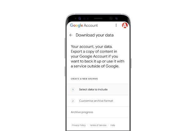 Download You Google Maps Data
