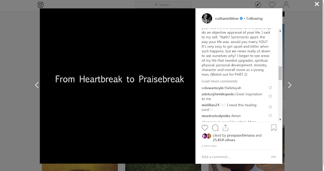 Nathaniel Bassey- Heartbreak To PraiseBreak