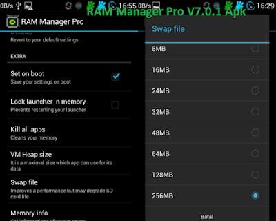 RAM Manager Pro V7.0.1 Apk