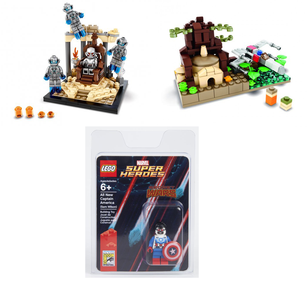 Collecting Toyz A Few Lego Sdcc 2015 Exclusives Announced Tony Hawk Circuit Boards By Hexbug Power Axle Set Innovation First The One They Via Hollywood Reporter Is Marvels Avengers Age Of Ultron Throne