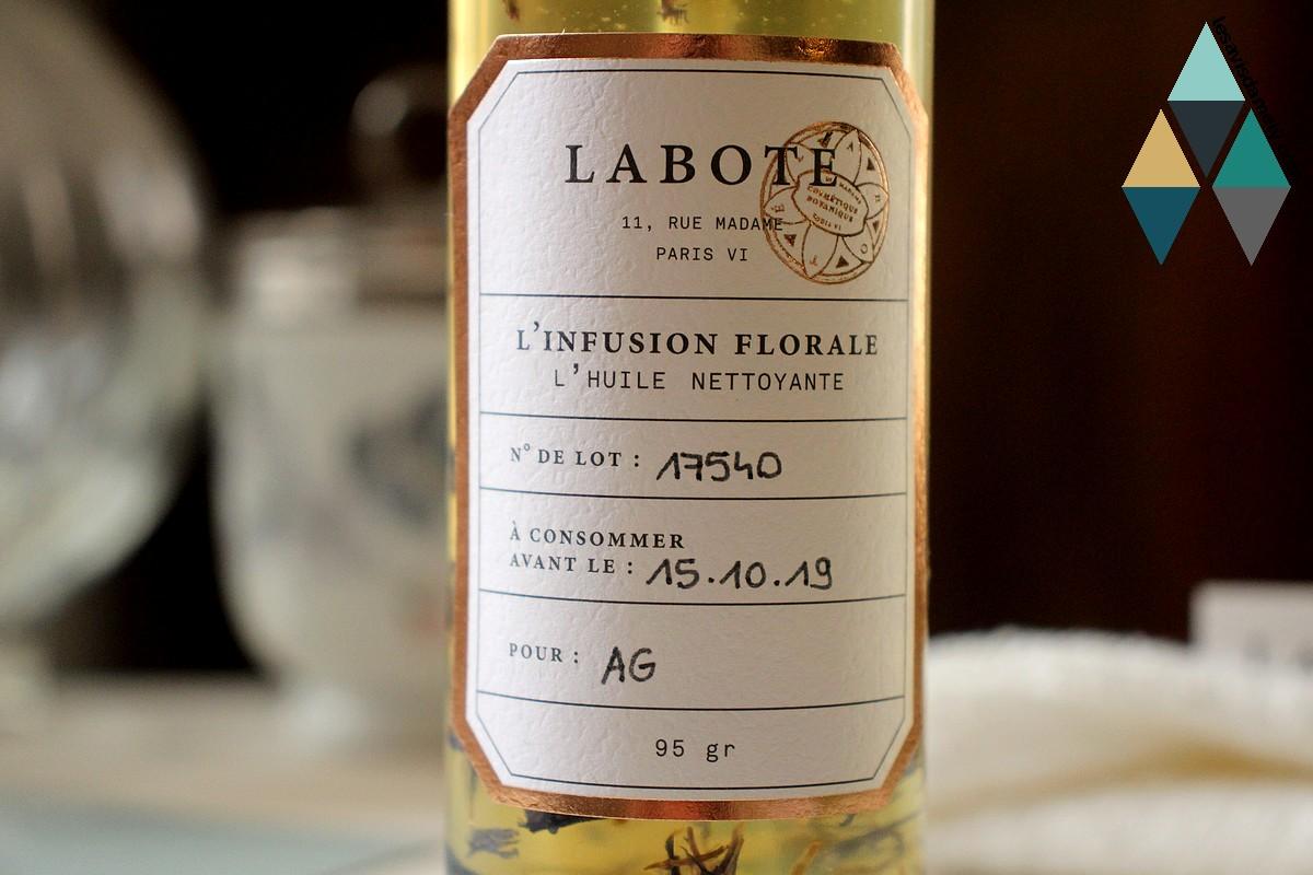 avis huile nettoyante infusion florale naturelle Laboté
