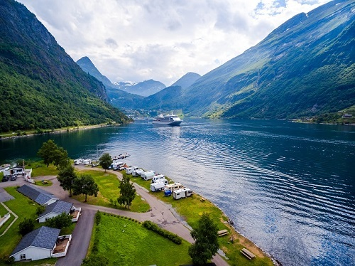 Suggested destinations in Norway