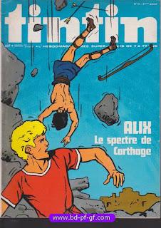 Tintin numéro 41, 1976, Alix