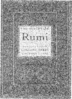 The Essential Rumi PDF Books By Coleman Barks