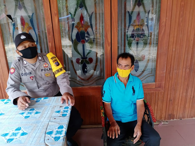 Personel Polsek Kahut Instensifkan Patroli Dialogis