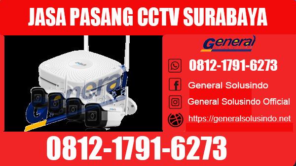 Jasa Pasang CCTV Surabaya Timur