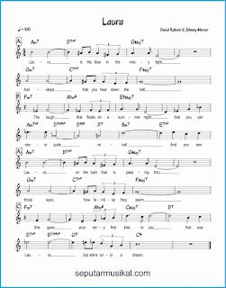 chord laura lagu jazz standar
