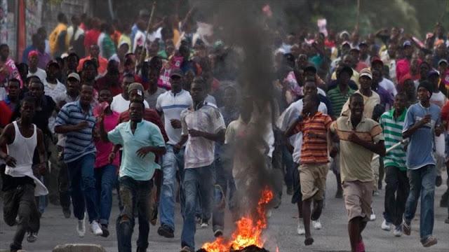 Protesta en Haití contra Gobierno y corrupción deja un muerto