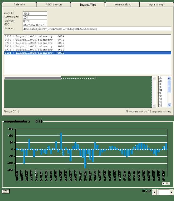 BugSat-1 Telemetry decoder