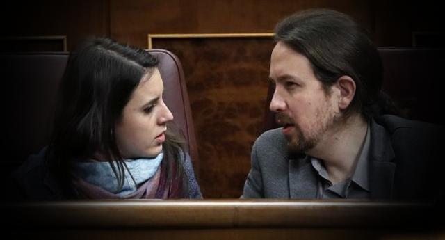 Iglesias y Montero denuncia un delito de odio contra sus hijos en la Comisaría del Congreso