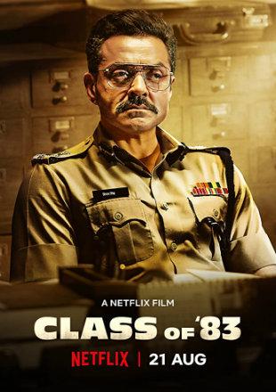 Class of 83 (2020) Full Hindi Movie Download HDRip 720p