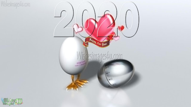 2020 New Year Love Desktop Background Images