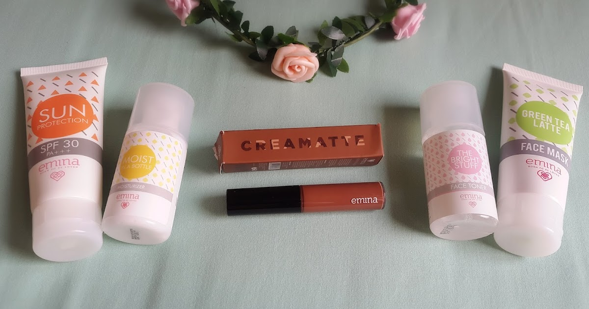 EMINA COSMETICS HAUL AND REVIEW - HAPPINESS