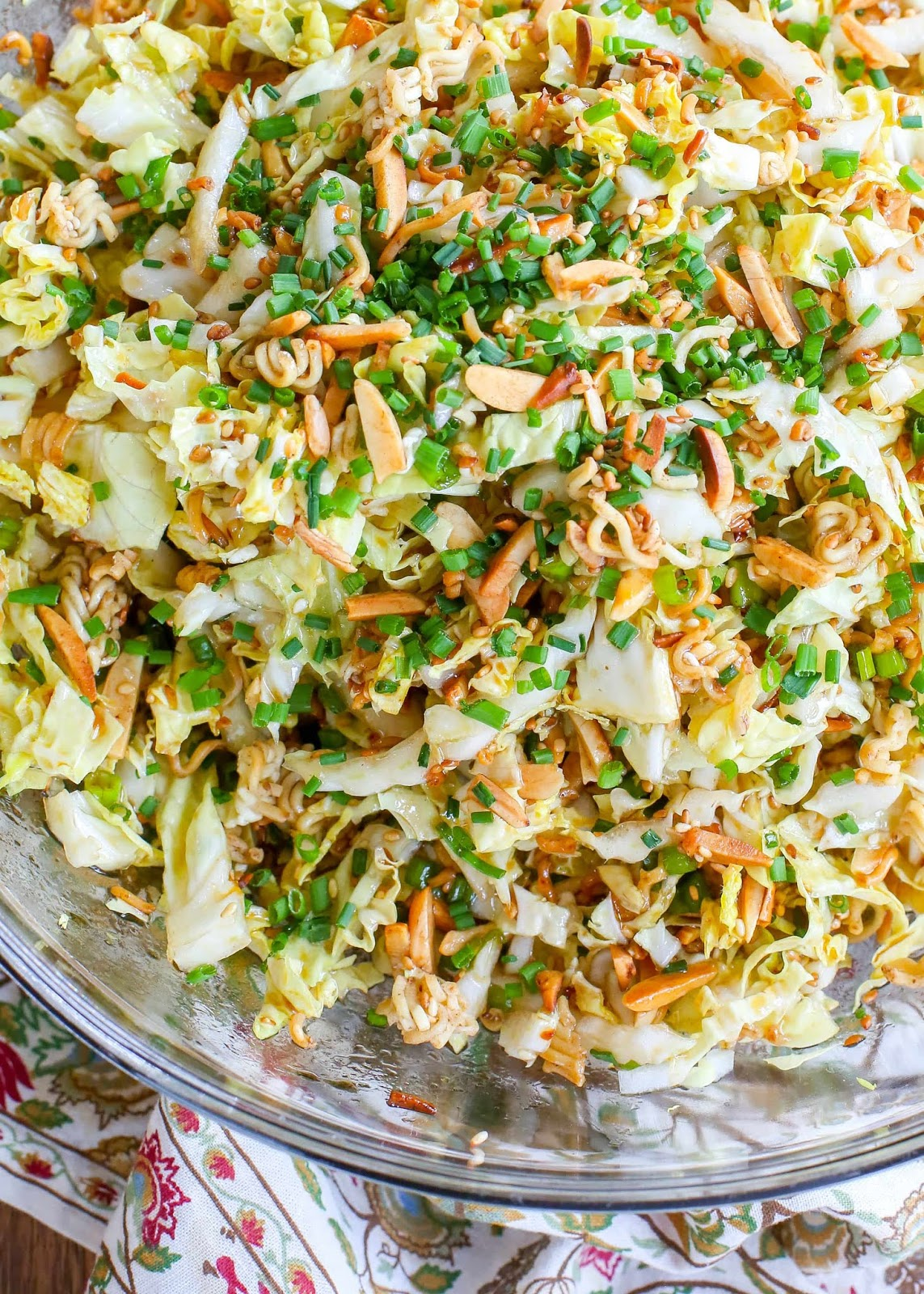 Ramen Noodle Salad #salad #noodle #dinner #ramen #healthy